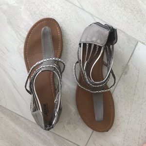 Strappy Thong Sandal